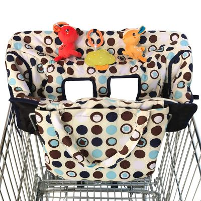 Croc n frog 2-in-1 Shopping Cart Covers for Baby and High Chair Cover - Medium Size for $15.87