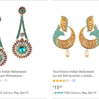 Amazon : Touchstone Indian Jewelry (As of 10/15/2019 9.45 PM CDT)