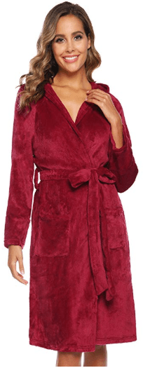 Amazon : Women Short Flannel Robes Just $16.99 W/Code (Reg : $39.99) (As of 11/11/2019 10.24 AM CST)