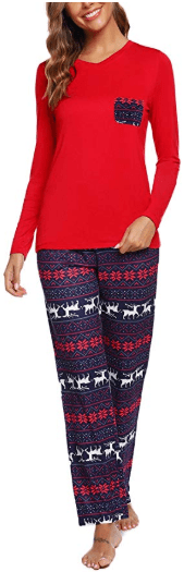 Amazon : Women's Pajamas Set Long Sleeve Just $13.99 W/Code (Reg : $27.99) (As of 11/11/2019 2.10 PM CST)