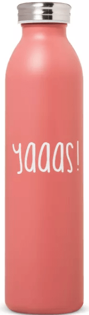 Target : 20oz Stainless Steel Insulated Retro Water Bottle - Coral Matte Just $5.60!