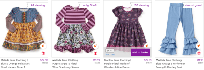 Zulily : Up To 70% Off Matilda Jane Clothing : Baby to Women!