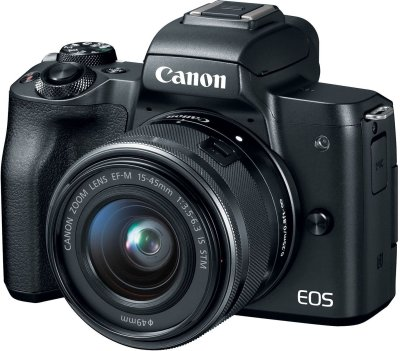 Amazon : Canon EOS M50 Mirrorless Camera Kit w/EF-M15-45mm and 4K Video - Black Just $649 (Reg : $899) (As of 11/18/2019 10.57 AM CST)