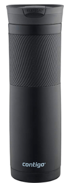 Amazon : Contigo Snapseal Byron Stainless Steel Travel Mug, 24 oz., Matte Black Just $7.99 (Reg : $14.99) (As of 11/18/2019 11.49 AM CST)