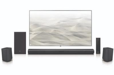 LG 4.1 Channel 420W Soundbar Surround System with Wireless Speakers for $179.00 (Reg $229.99)