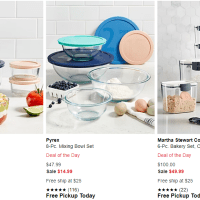 Macy's : Martha Stewart Collection Deal of the Day Food Storage Containers Just From $14.99!