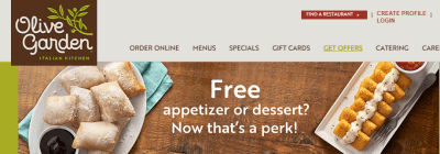 Olive Garden : Kids' Meal for JUST $1 with Adult Entree Purchase!