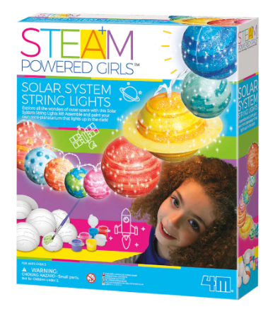 Michael's : STEAM Powered Girls™ Solar System String Lights Just $12.97 (Reg : $21)