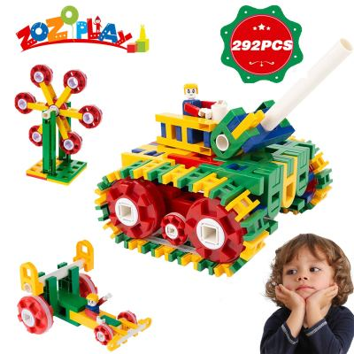 Amazon : 292 PCS STEM Toys Building Set Just $17.20 W/Code (Reg : $899) (As of 11/18/2019 11.05 AM CST)