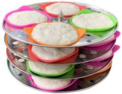 Silicone Idli Liners  for $14.99 + Free Shipping