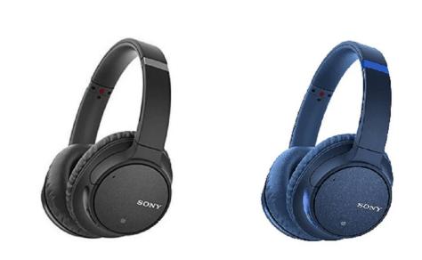 SONY WHCH700N/B Black Noise Cancelling Headphones for $149 (reg: $199.99)