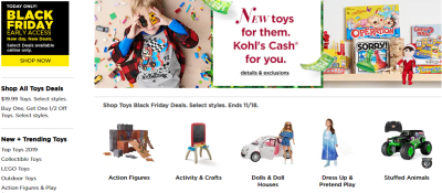 Kohl's : All Toys! Kids Ride-On Toys JUST $19.99 (Reg $35) – Black Friday Price!