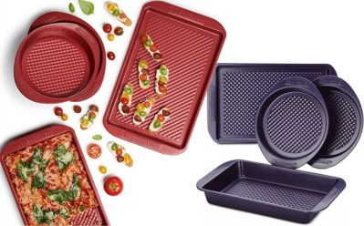 Farberware Colorvive 4-Pc. Bakeware Set for ONLY $19.99 at Macy's (Regularly $47)