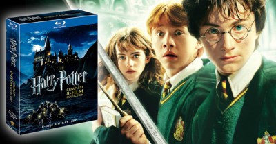 Harry Potter Complete 8-Film Blu-Ray Collection Only $27.49 Shipped at Amazon (Regularly $100)