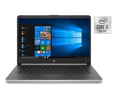 HP 14 Laptop, Intel 10th Gen Core i5-1035G1, 8GB SDRAM, 256GB SSD + 16GB Intel Optane memory for $399 (Reg: $599)
