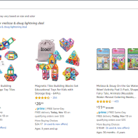 Amazon : All Melissa & Doug Lightning Deal (As of 11/13/2019 6.09 AM CST)