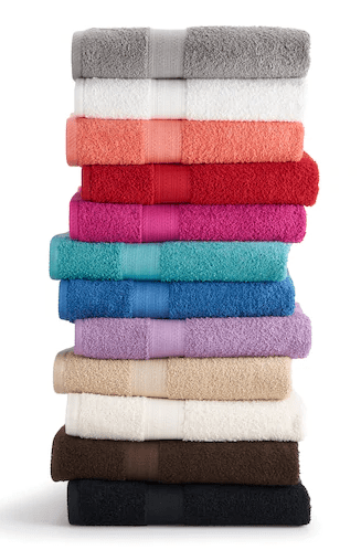 Pillows & Towels for $1.71 each