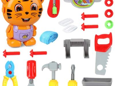 Amazon : 20 Pieces Little Tiger Engineer Toolbox with Portable Suitcase and Backpack Design Just $9.99 W/Code (Reg : $19.99) (As of 12/19/2019 8 PM CST)