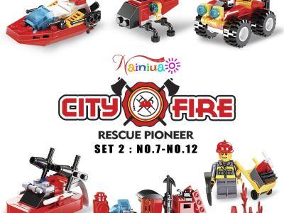 Amazon : 222Pcs Fire Rescue Vehicles Building Blocks Set Just $9.20 W/Code (Reg : $22.99) (As of 12/19/2019 5.48 AM CST)