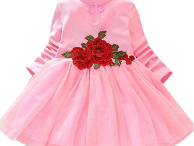 Amazon : Baby Girl's Long Sleeve Mesh Dresses Just $11.88 W/Code (Reg : $23.76) (As of 12/20/2019 6.15 PM CST)