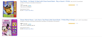 Amazon : Sound Book Sale (As of 12/22/2019 8.54 PM CST)