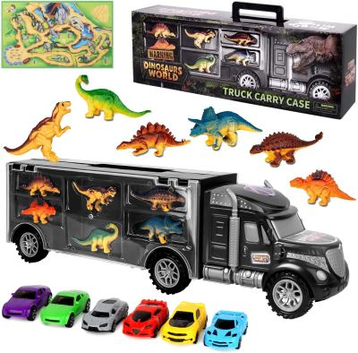 Amazon : Dinosaur Transport Carrier Vehicles Toy Set Just $9.49 W/Code (Reg : $23.99) (As of 12/11/2019 8.18 PM CST)