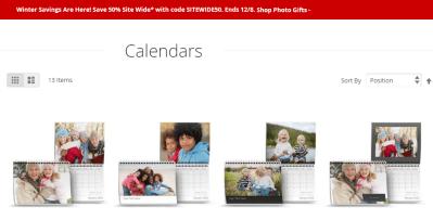 F-R-E-E Photo Wall Calendar from Target Photo!