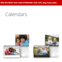 F-R-E-E Photo Wall Calendar from Target Photo!