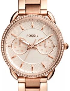 Macy's : Fossil Women's Tailor Rose Gold-Tone Stainless Steel Bracelet Watch 35mm Just $98.81 W/Code (Reg : $155)