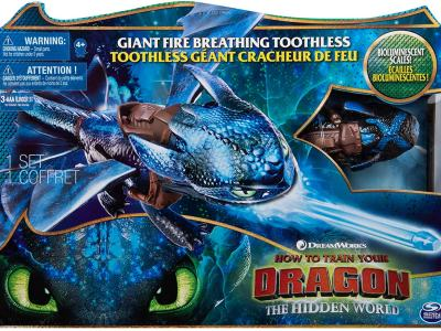 Amazon : Giant Fire Breathing Toothless Just $8.99 (Reg : $34.99) (As of 12/20/2019 9.50 AM CST)
