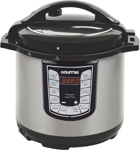 Gourmia 6-Quart Pressure Cooker JUST $29 + FREE Shipping (Reg $80) – Today Only!