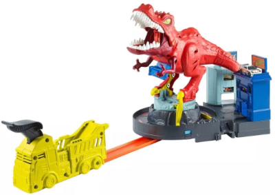 Target : Hot Wheels T-Rex Rampage Playset + Diecast Car 5-Pack Just $26.99 (Reg : $50)