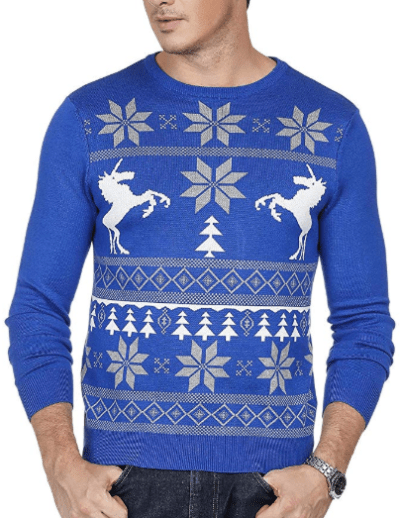 Amazon : Mens Casual Christmas Pattern Lightweight Knit Pullover Sweater Just $7.49 W/Code (Reg : $24.99) (As of 12/18/2019 5.38 AM CST)