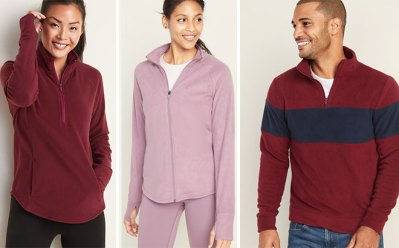 Old Navy Women's & Men's Microfleece Jackets JUST $7 (Reg $33) – Today Only!
