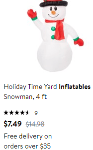 Walmart : Inflatable's From $7.49!