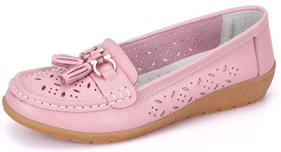 Amazon : Women's Comfort Leather Casual Flat Driving Loafers Just AS LOW AS $7.99 W/Code (Reg : $9.99-18.99) (As of 12/02/2019 9.45 AM CST)