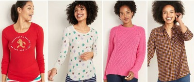 Old Navy Up to 75% Off Apparel + Extra 25% Off – Starting at ONLY $2.98!
