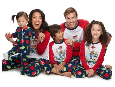 Family PJs starting at $4.20 - Kohl's