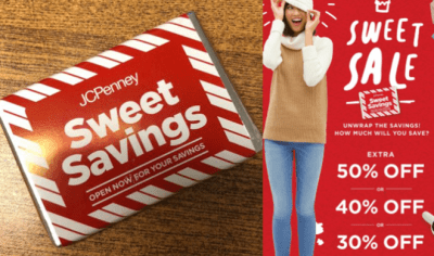 Jcpenney : Mystery Coupon : Score Up to 50% Off Your Purchase (Through December 14th)