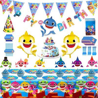 Amazon : 159Pcs Shark Themed Birthday Decoration Just $12.45 W/Code (Reg : $29.40) (As of 1/22/2020 10.05 AM CST)