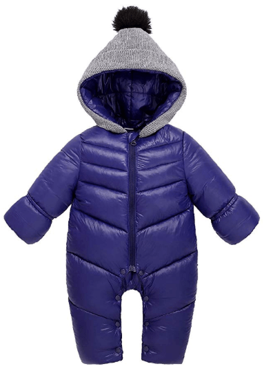 Amazon : Winter Baby Boys Girl's One-Piece Cable Hood Down Snowsuit Jumpsuit Just $5.99 W/Code + 10% off Coupon (Reg : $30.99) (As of 1/16/2020 11.19 AM CST)