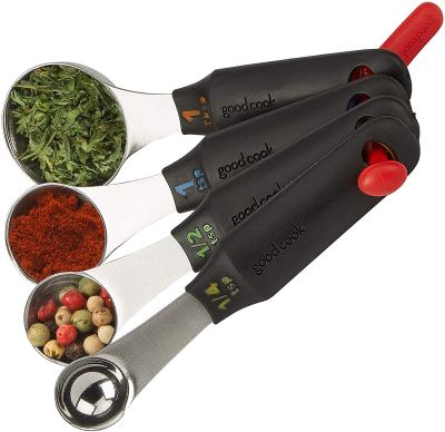 Amazon : 4-Piece Stainless Steel Measuring Spoons Set Just $3.97 (Reg : $12.94) (As of 1/27/2020 2.40 PM CST)