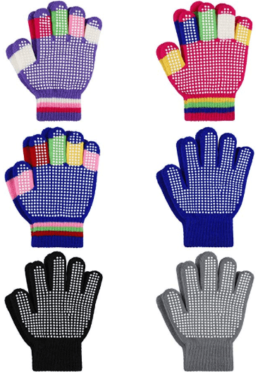 Amazon : 6 Pairs Kids Anti-Skid Gloves Just $3.98 (As of 1/16/2020 4.45 PM CST)
