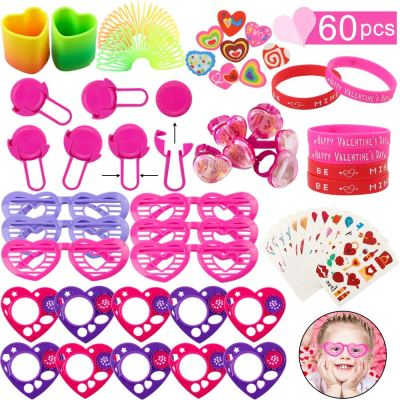 Amazon : 60pcs Valentine's Day Party Favor Supplies Just $5.99 (As of 1/29/2020 5.49 AM CST)