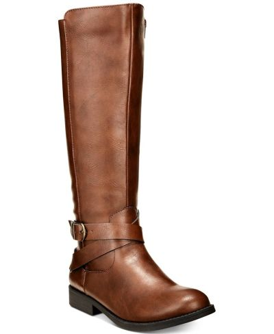 MACY'S: Style & Co Madixe Riding Boots, JUST $12.49 (Reg $49.99)