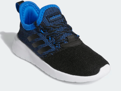 ADIDAS: LITE RACER RBN SHOES LIGHTWEIGHT RUNNING-INSPIRED SHOES FOR ALL-DAY PLAY. JUST $30 (REG $60)