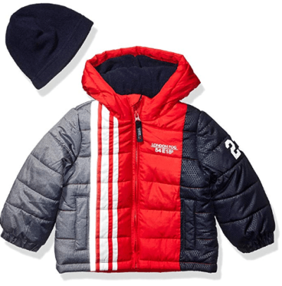 Amazon : Baby Boys' Color Blocked Puffer Jacket Coat with Hat Just $9.78 (Reg : $32.99) (As of 1/27/2020 1.32 PM CST)