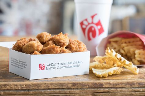 Chick-fil-A is offering up a FREE 8-Piece Breaded Chicken Nuggets or Kale Side Salad!  Follow these steps to score this free offer from Chick-fil-A:  Log in or download the FREE Chick-fil-A One App on iTunes or Google Play Make sure that you have a registered profile and your location services are enabled. Click on the Rewards tab Click on Redeem Reward and choose to add to a mobile order or to scan at the restaurant Keep in mind that you must log in to your account today, January 13th, to access this offer but it can be redeemed through January 31st, 2020.