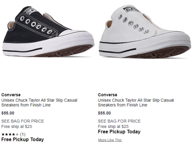 Macy's : $15 Converse!!! Add to cart & price will drop to $15!