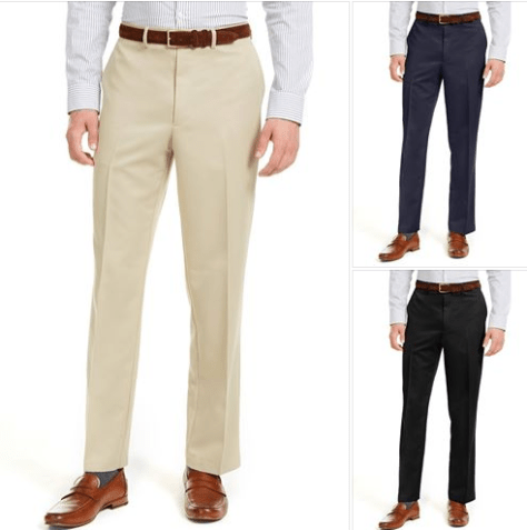 Dockers Men's Classic-Fit Performance Solid Classic Dress Pants for $21 (reg: $70) w/code